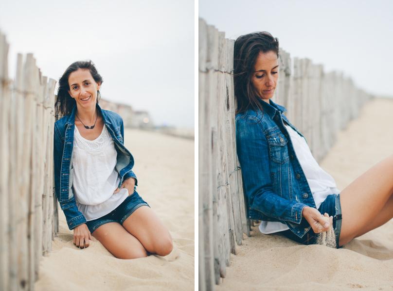 Portrait femme Hossegor plage_-18