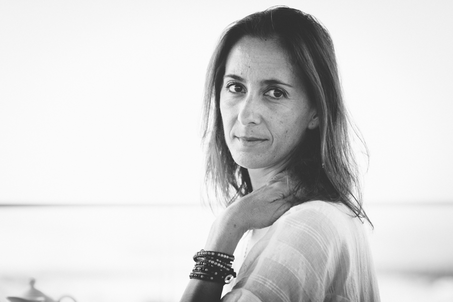 Portrait femme Hossegor plage_-22