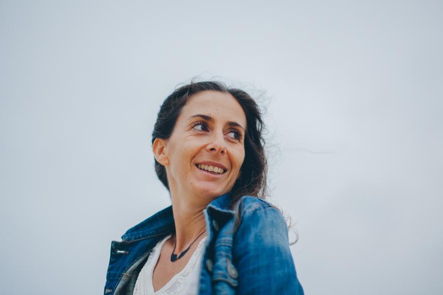 Portrait femme photographe Hossegor plage-10